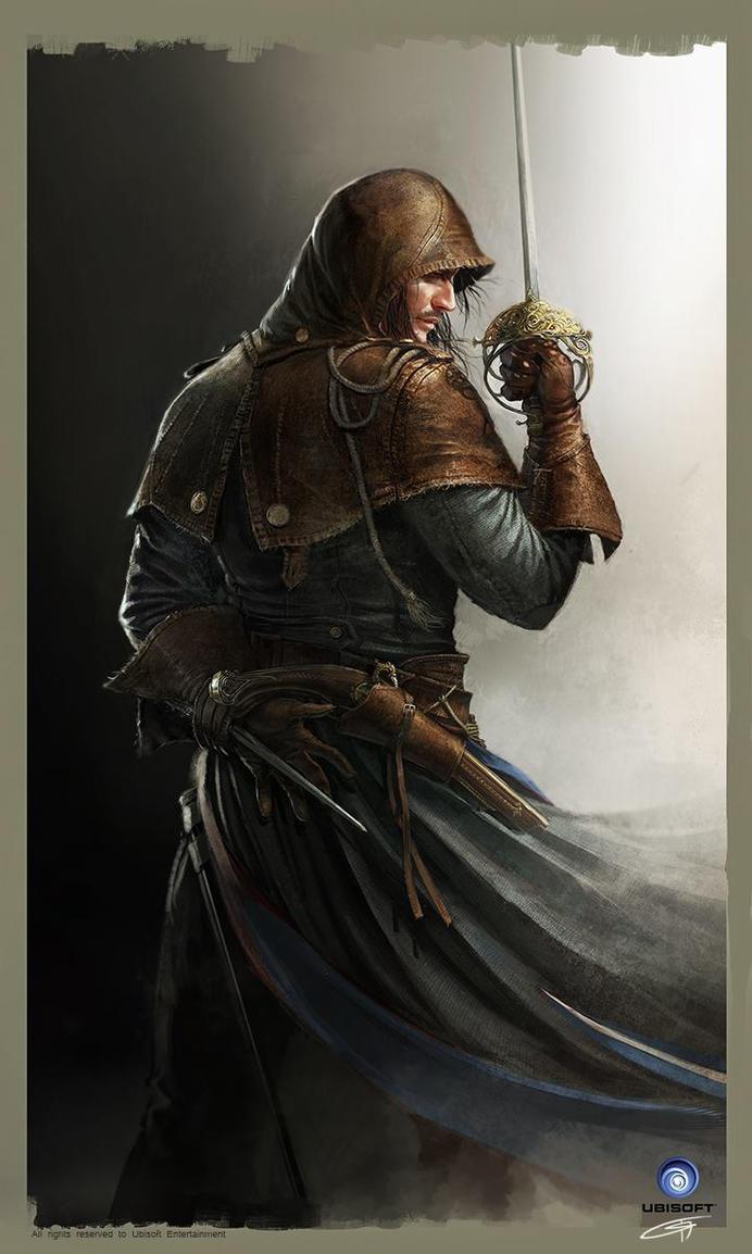 Arno Dorian Keyart AC Unity Ubisoft by Okmer