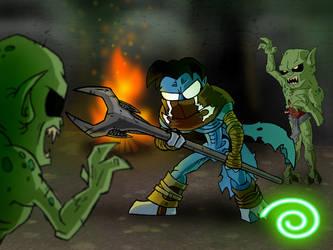 Necropolis Trouble by Kubi-Wan