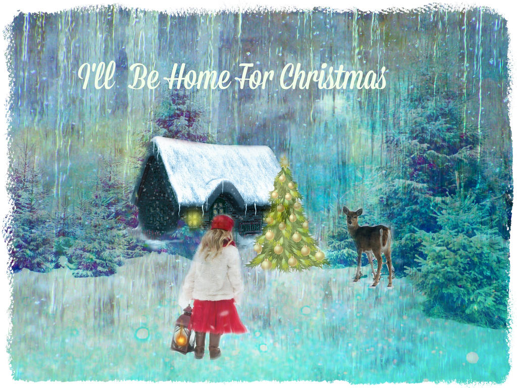 Ill Be Home For Christmas By Artistic Touches