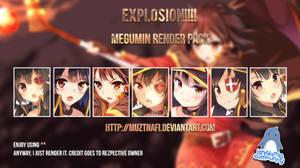 Explosion!!!! Megumin render pack