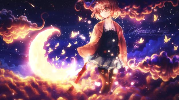 Kyoukai no kanata wallpaper 2