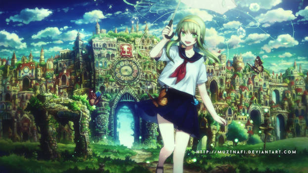 Magic fantasy world