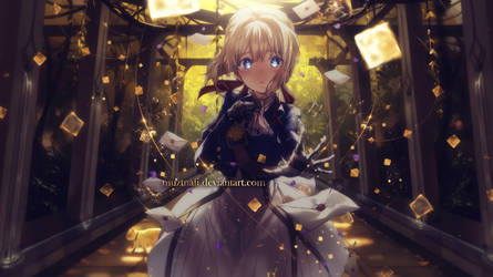 Violet evergarden by Muztnafi