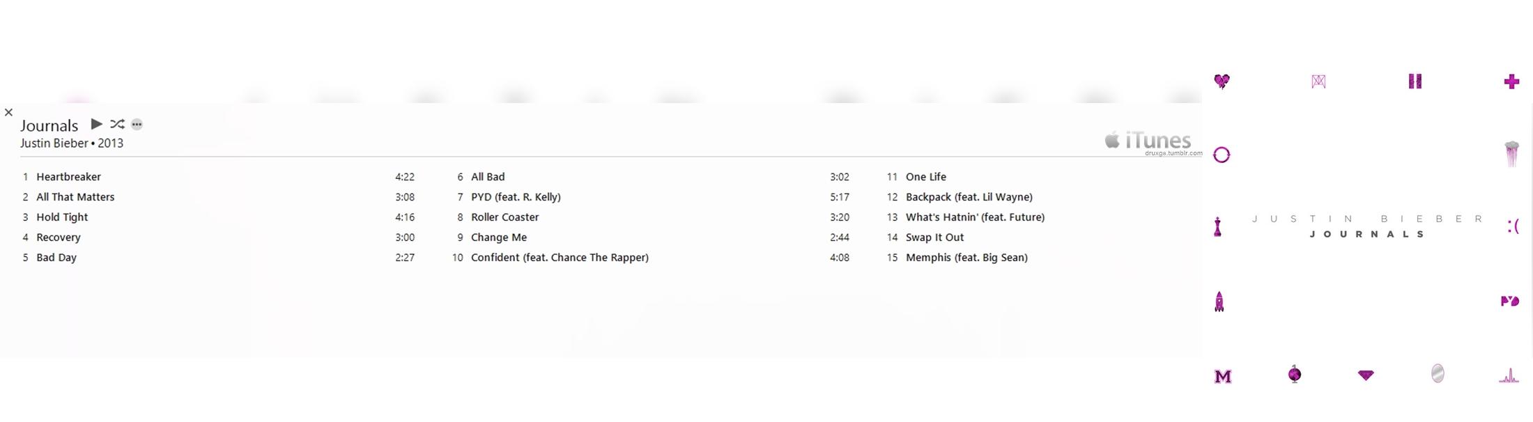 justin bieber album download journals