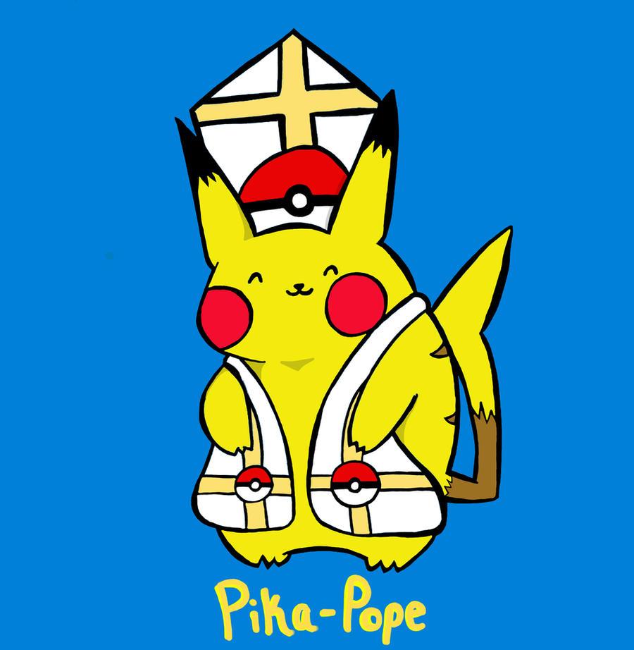 Pika-Pope by NicoSchmiko