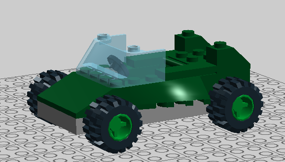 LEGO Car by Billopo