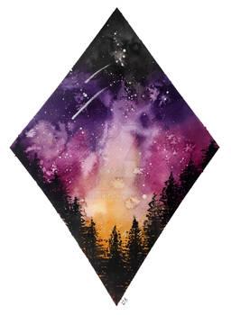 Nebula Forest