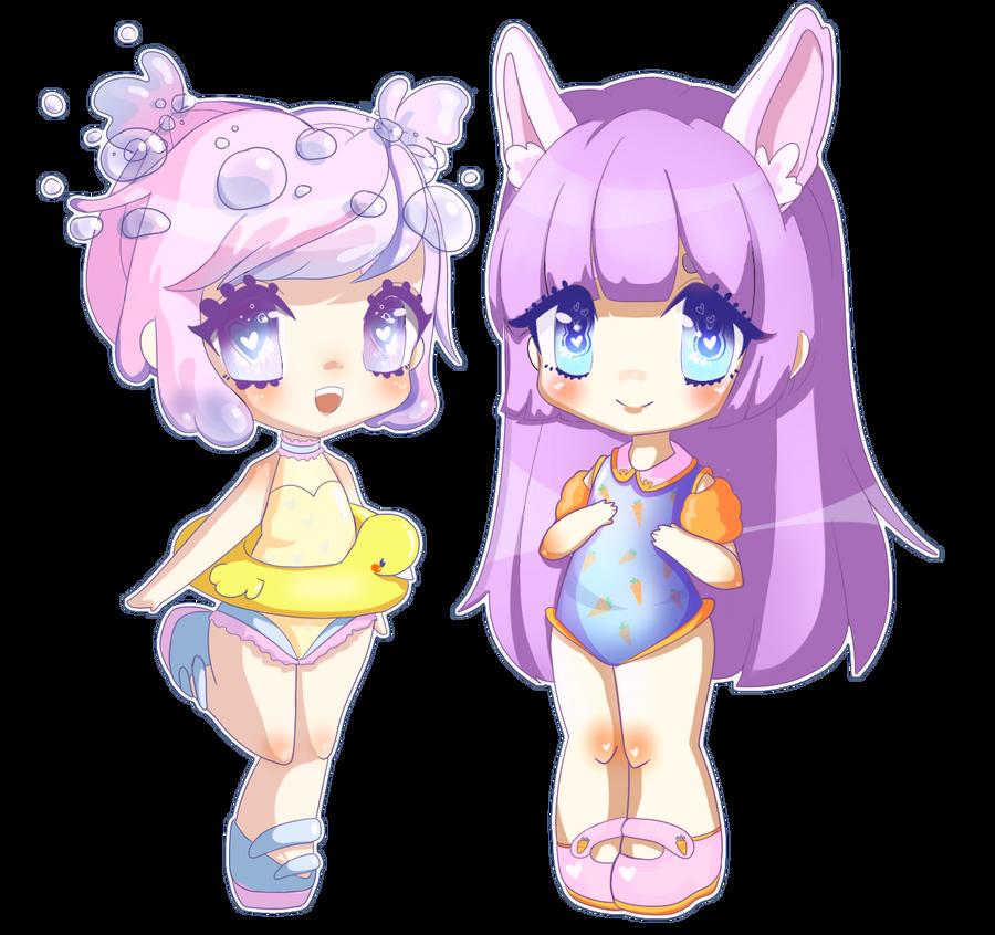 Lets swim! by Bubble-Crown