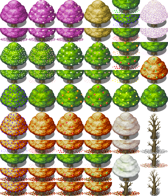 All Trees for all Seasons [RPG-Maker-MV] [FIXED] by petschko