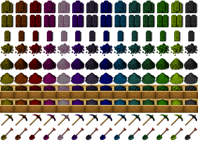 Gut gemocht Re-Colored Metalbars, Tools/Gravel3 [RPG-Maker-MV] by petschko on  PM41