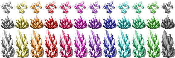 Re-Colored Crystals [RPG-Maker-MV] by petschko