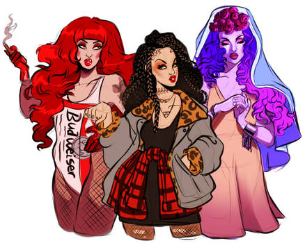 The Devil , The Star and The High Priestess