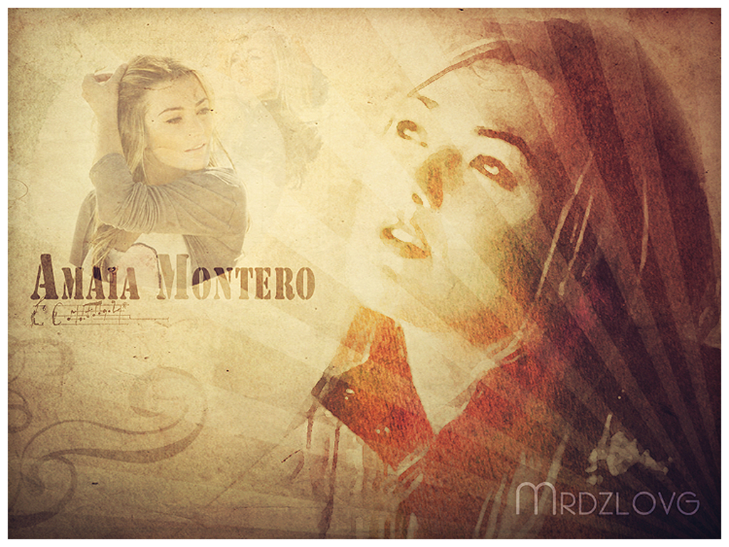 Amaia Montero by MrdzLOVG