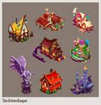 The Grimm Reaper - Buildings