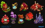 Grimm Reaper: Hidden Tales - new decorations