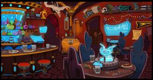 Sci-Fi Tavern by doingwell