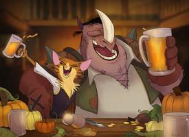 Pumpkin Ale by doingwell
