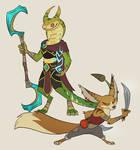 sethrak and vulpera