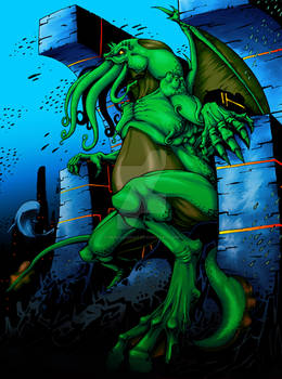 Call of Cthulhu full color