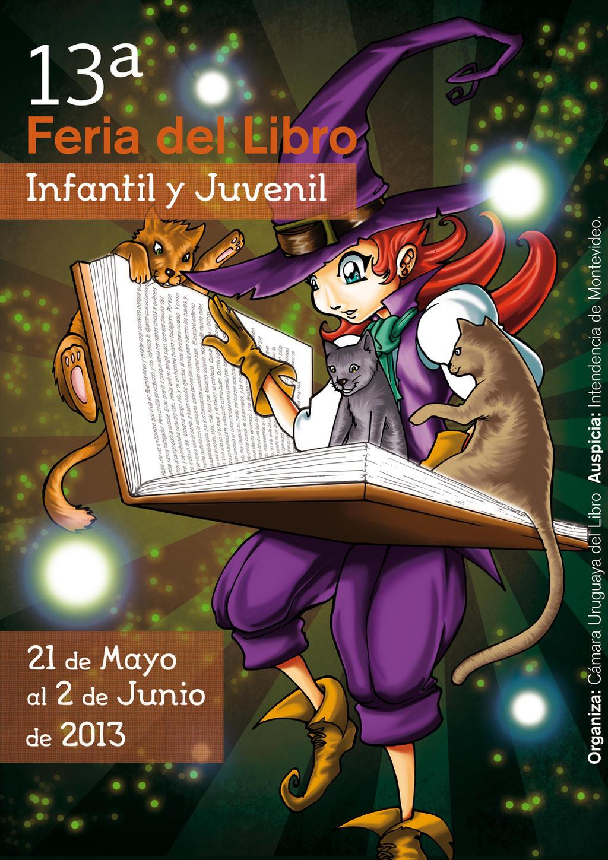Afiche 13 Feria del Libro by BRAINandFAT