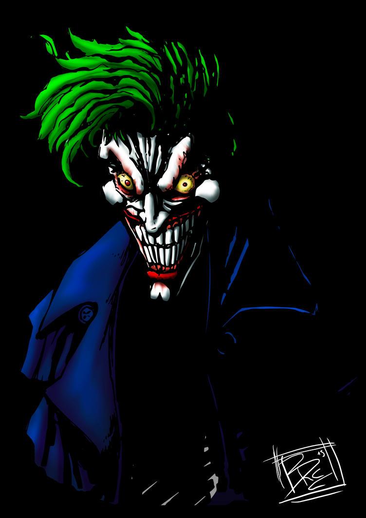 Joker Arkham Asylum by BRAINandFAT