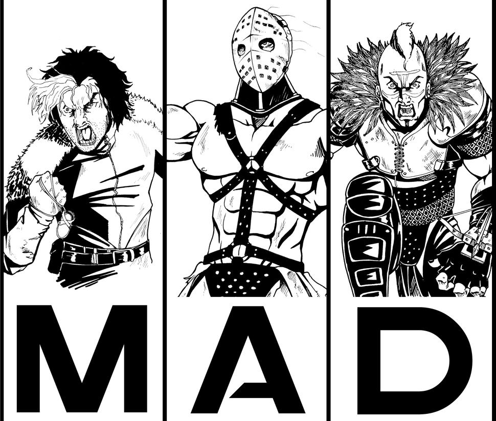Mad Max's Villains 1 by BRAINandFAT
