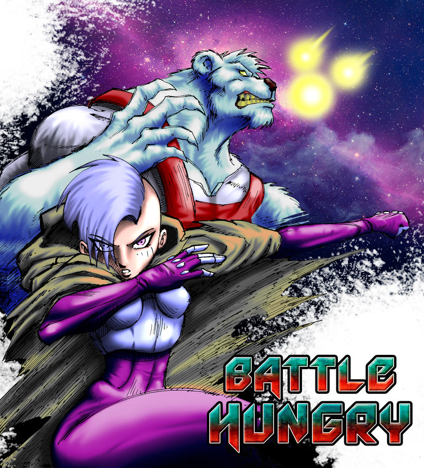 Battle Hungry Portada Color by BRAINandFAT