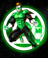 Hal Jordan - Green Lantern by BRAINandFAT