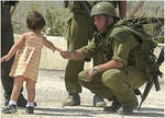 Cruel Israeli Soldier