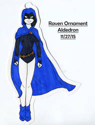 Raven Ornament by Aldedron