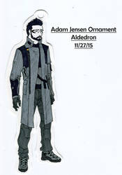 Adam Jensen Ornament by Aldedron