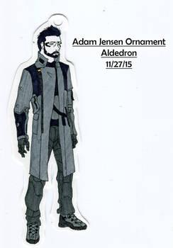Adam Jensen Ornament