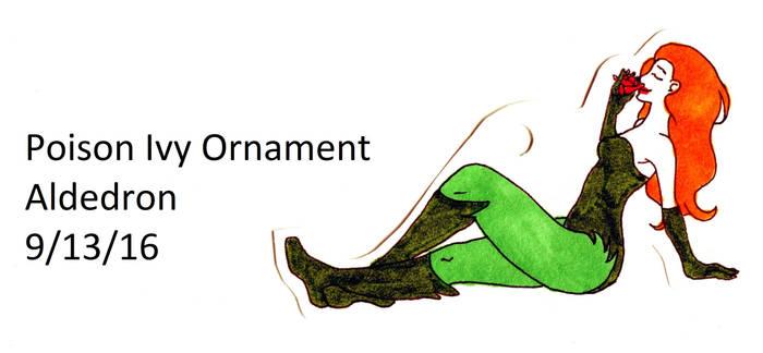 Poison Ivy Ornament
