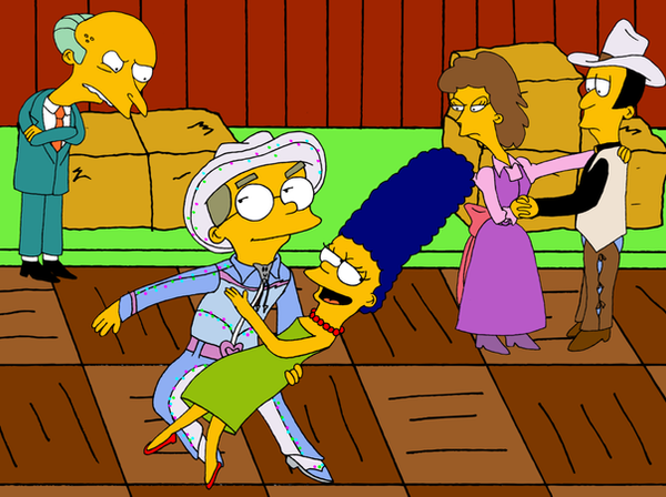 Simpsons -- Jealous? by girlperson2235
