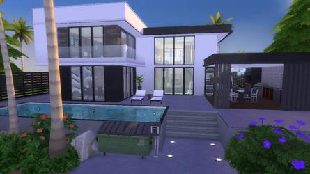 Modern Blacwhite | Sims 4