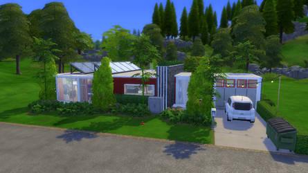 Broderm Home (Jailbreak) | The Sims 4