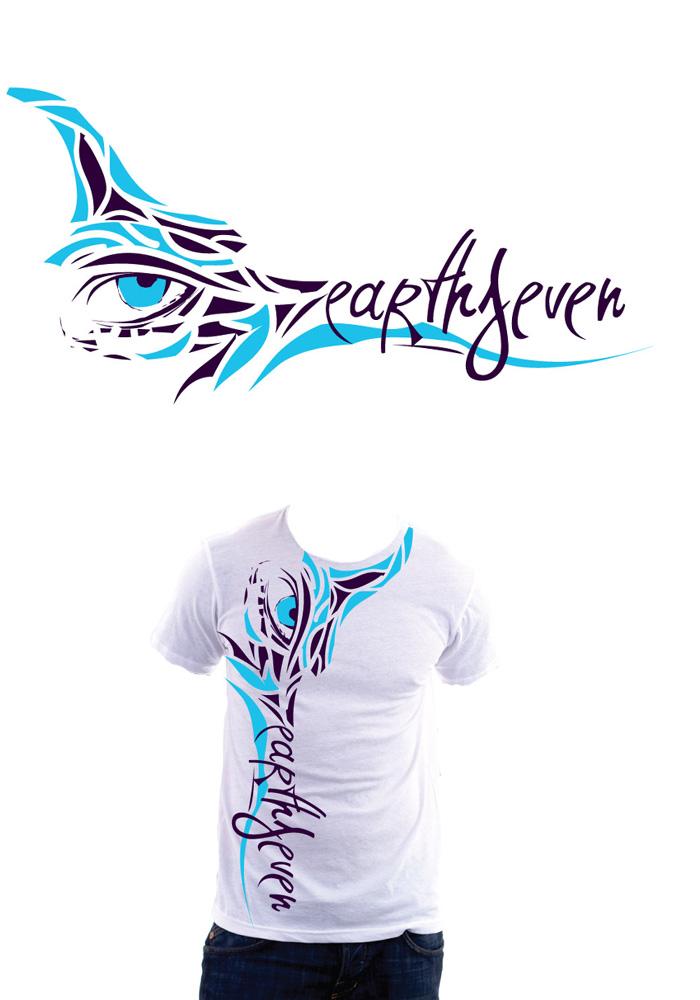 earthseven T-Shirt 2 by Rockfield