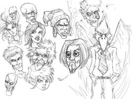 Faces Sketches