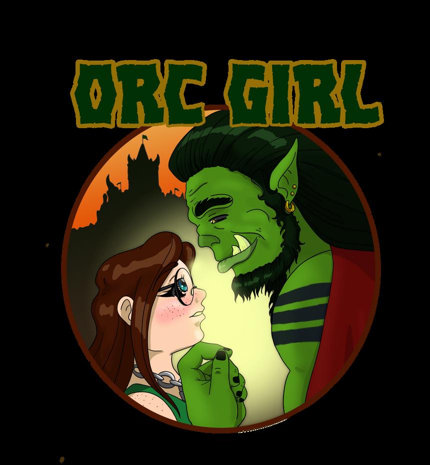 Orc Girl Logo