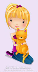 ane and cat by justane
