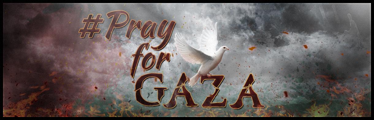#PrayforGAZA by rexolution