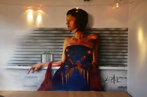Floor works mural by AaronLi-Hill