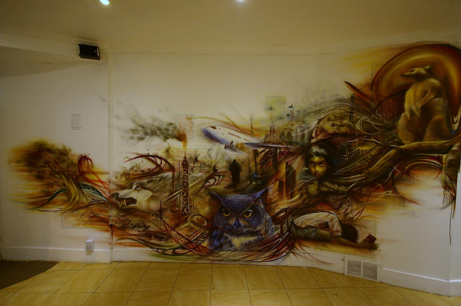 Piecing It Together Mural By Aaronli Hill On Deviantart