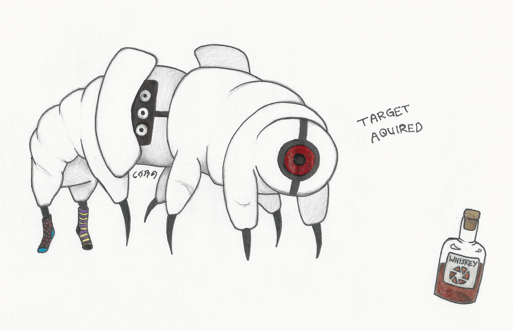 Tardigrade Turret by CytoSkelly