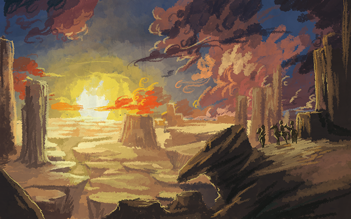 Style Test Rendition Of Wild West Wallpaper Image By