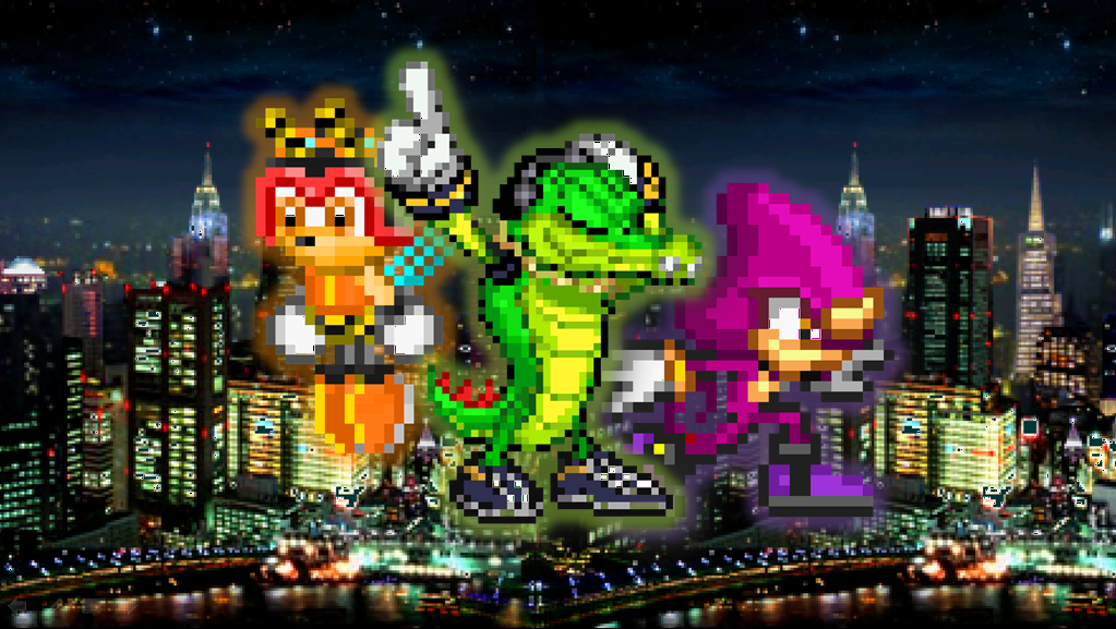 Team Chaotix Wallpapers by PivotProduction2009 on DeviantArt