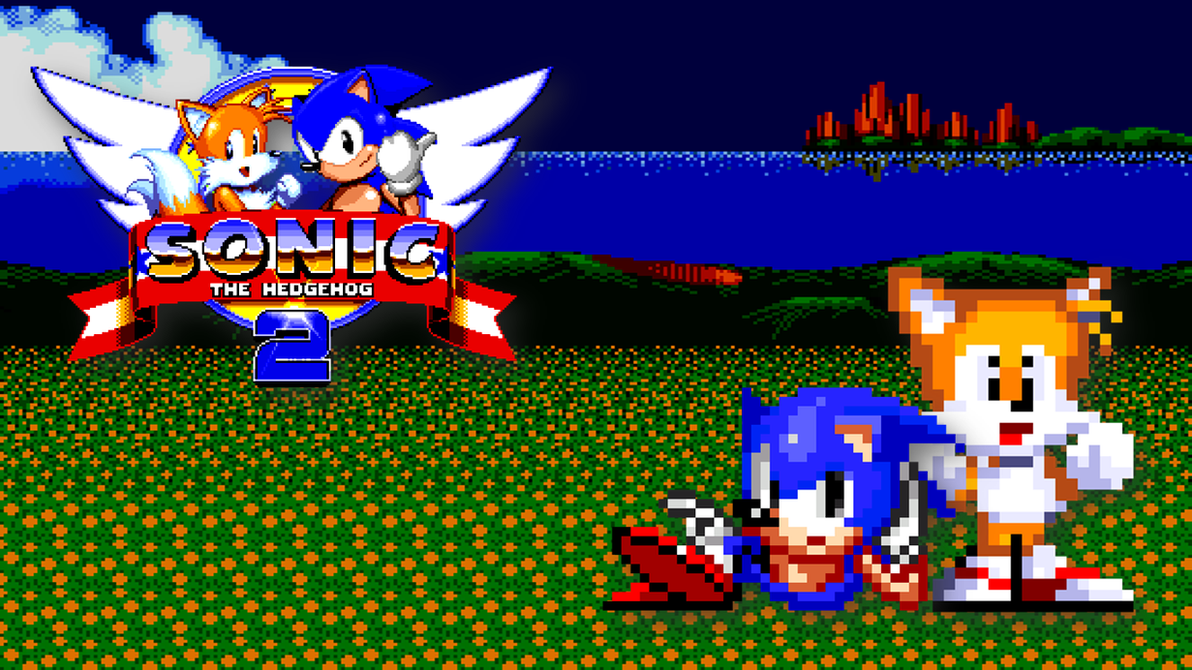 Sonic The Hedgehog 2 Wallpaper By PivotProduction2009