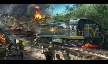 Train by zzytudou