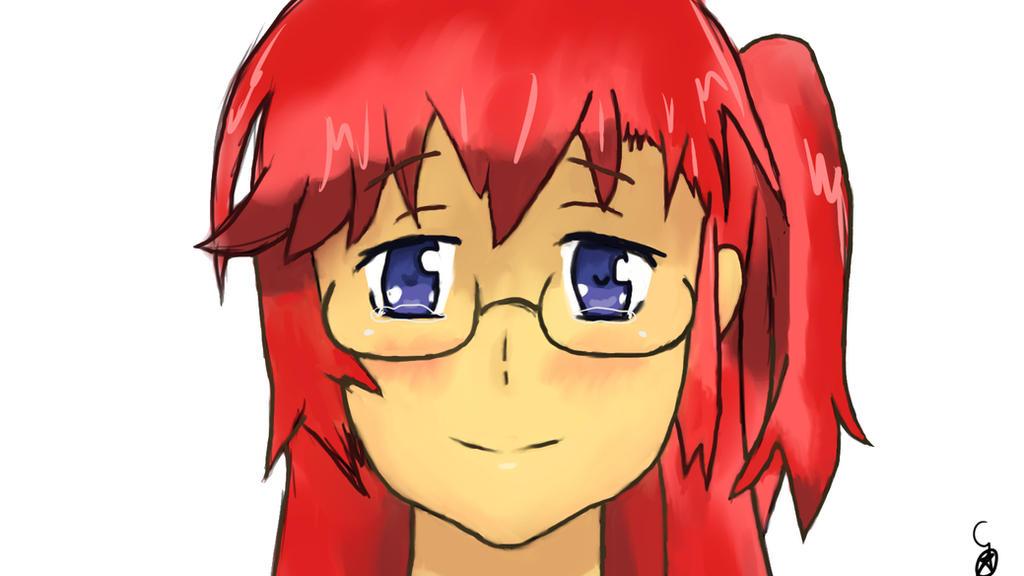 Ichika painting by codeobsidian