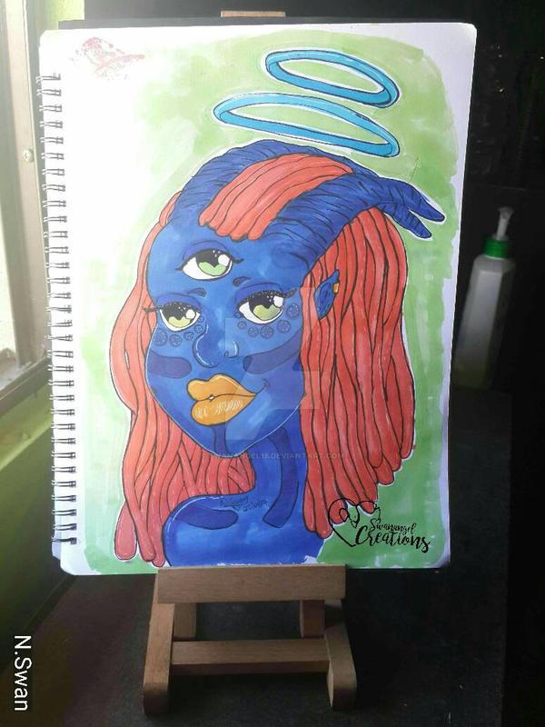 Blue Beauty by Swanangel15